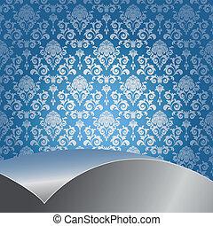 experiência azul, prata