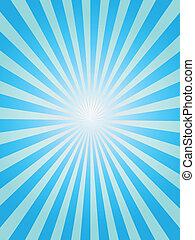 experiência azul, sunray