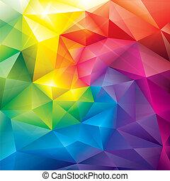 experiência., cores