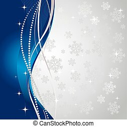 experiência., inverno, prata, abstratos