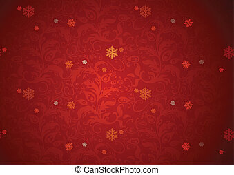 experiência vermelha, textura, natal