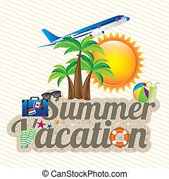 férias, verão