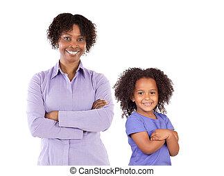 família, africano-americano