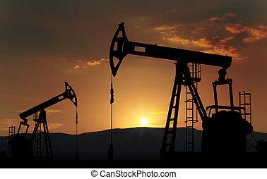 fazenda, óleo