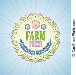 fazenda fresco, emblema