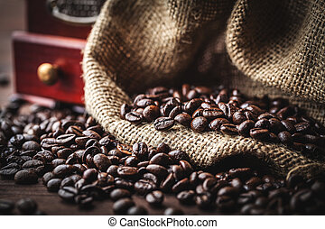 feijões café