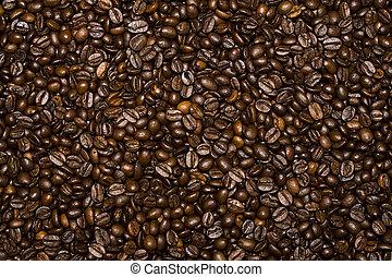 feijões café, fundo