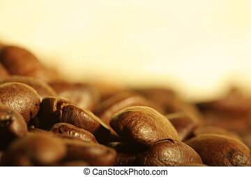 feijões, café, pilha