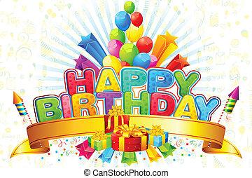 feliz aniversário