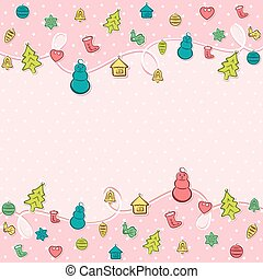 feliz natal, fundo, criativo