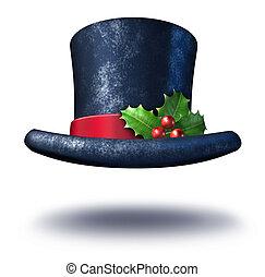 feriado, chapéu, inverno