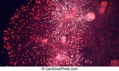 feriado, fogos artifício