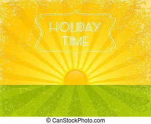 feriado, tempo