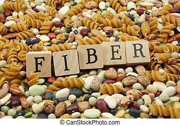 fiber!, mais, comer