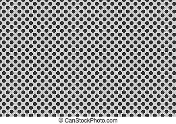 fibra, padrão, carbono