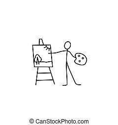 figura vara, artista