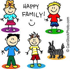 figura, vara, homossexual, family-men