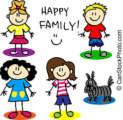 figura, vara, homossexual, family-women