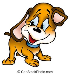 filhote cachorro, cão