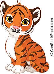filhote tigre, cute
