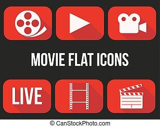 filme, set., ícones