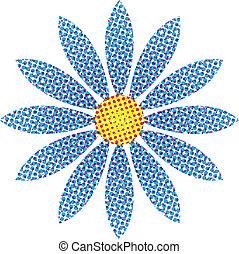 flor, halftone