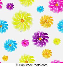 flor, seamless, fundo