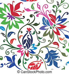 floral, experiência., vetorial