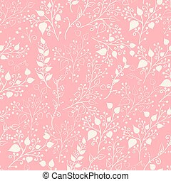 floral, pattern., seamles