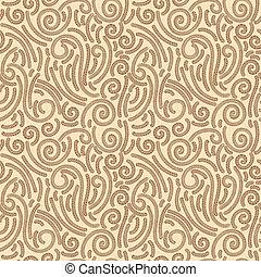 floral, têxtil, papel parede, seamless, padrão