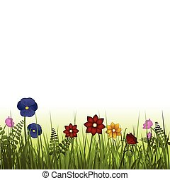 flores selvagens