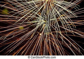 fogos artifício