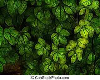 foliage colorido