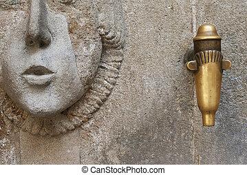 fonte água