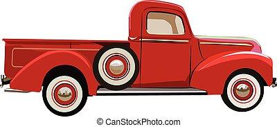 ford, 1941, cima, pico