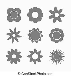 formas, flores, jogo