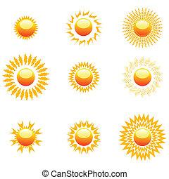 formas, sol