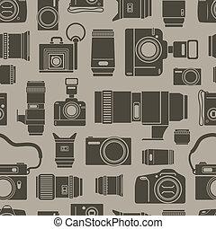 foto, modernos, seamless, technics, fundo, retro