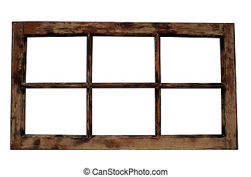 frame janela, resistido