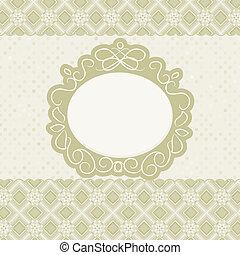 frame., vindima, eps, elegante, 8, desenho, cartão