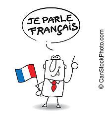 francês, falar