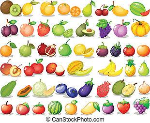 fruta, jogo
