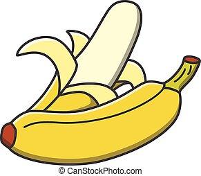 frutas, banana