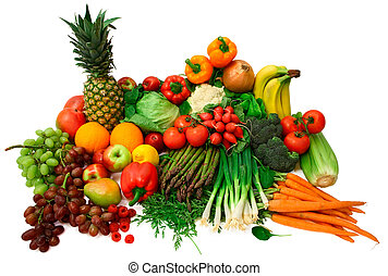 frutas, legumes frescos