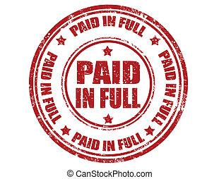 full-stamp, pago