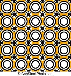 fundo, abstratos, círculo, repetindo, padrão