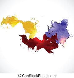fundo, abstratos, vetorial, coloridos, ilustração