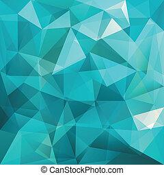 fundo, abstratos, vetorial, triangulo