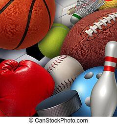 fundo, esportes