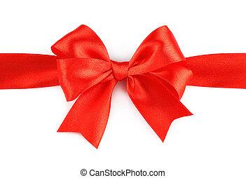 fundo, feriado, arco, vermelho, grande, branca